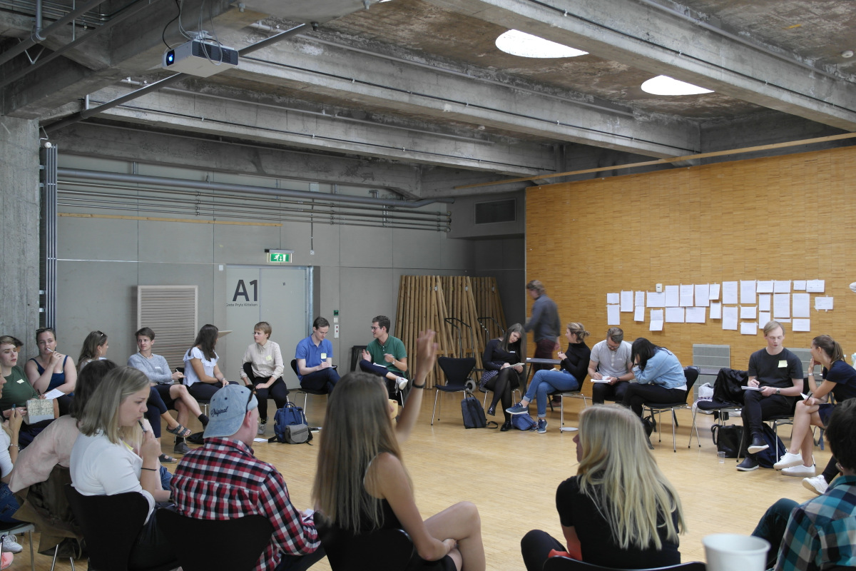 Hurtigpraksis Lecture on the office's practice - 10.08.2017 - Oslo house of Innovation, Oslo - Presenting,