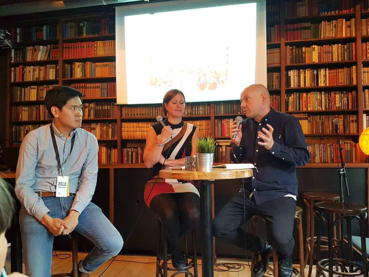 Breakout session at the Oslo Urban Arena 2017 - 20.09.2017 - Library at Kulturhuset, Oslo - As part of the break-out sessions, we are presenting,