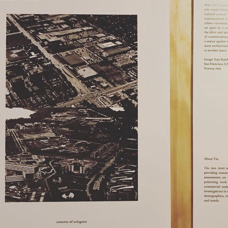 1 out of 36 Wildcards exhibited at the OAF - History in Practice Launch - 24.01.2019 - Arkitektenes Hus, Oslo - The exhibition was presented at the launch of OAF's spring program, History in Practice. The brief for each of the offices was simple: send a picture + text that inspires them. Tin was among the 36 offices exhibited. It was curated by Svingen Arkitektkontor and Holt O'Brien.