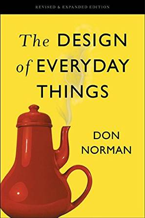 Donald Norman's famous book on designing usability. The Masochists Teapot has always graced its cover.