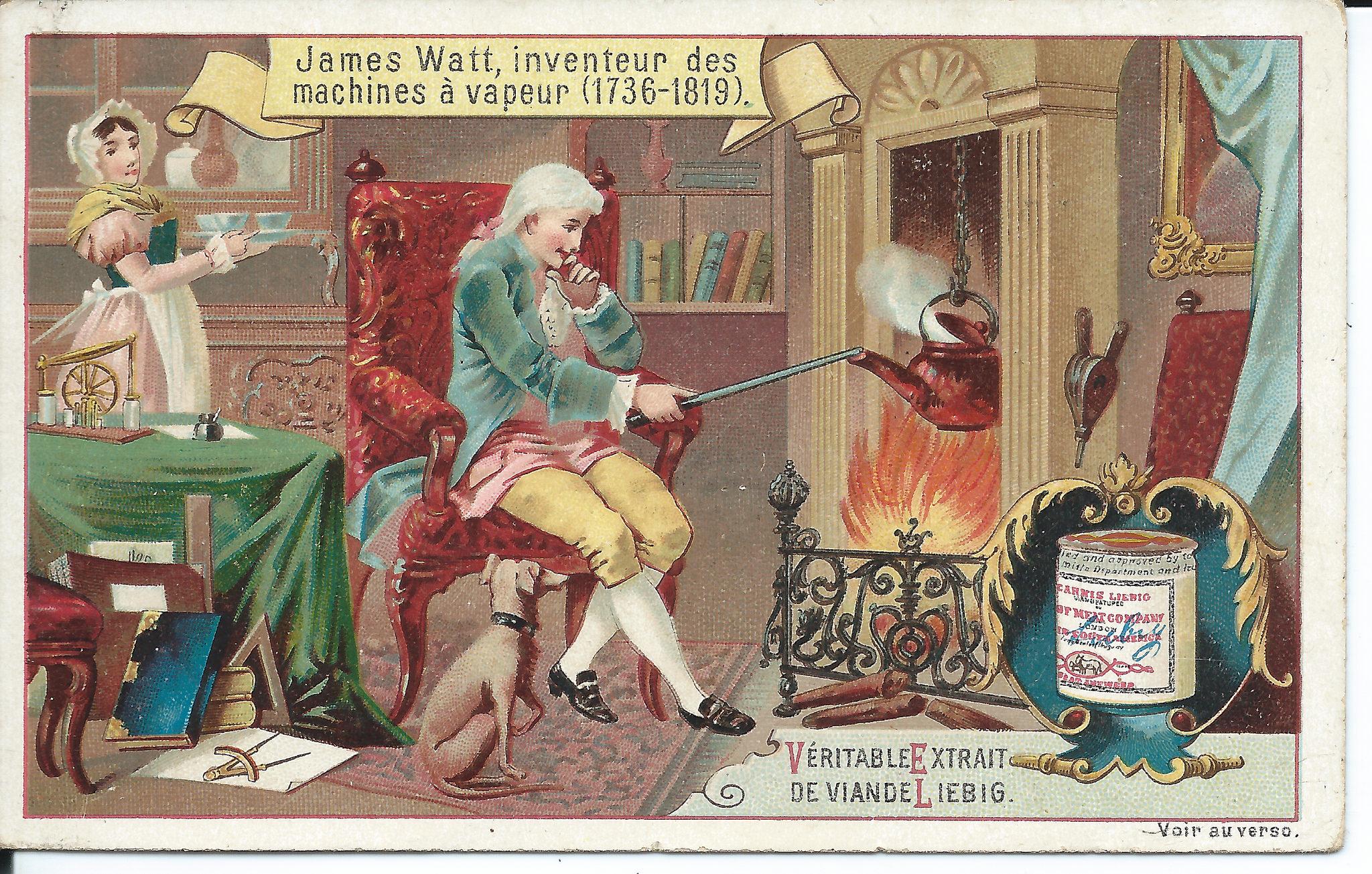 James Watt, inventor of the steam engine