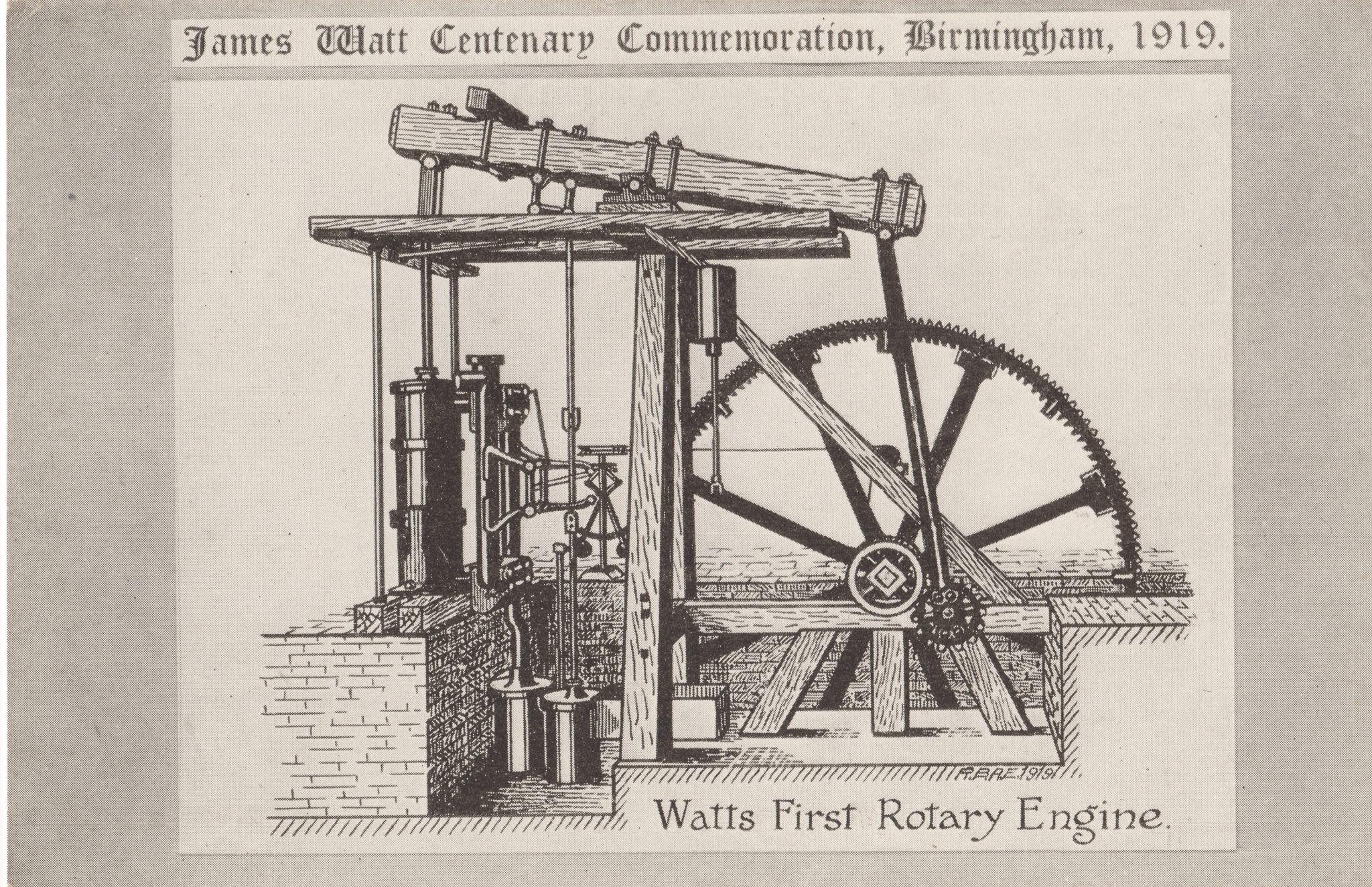 Watt's First Rotary Engine