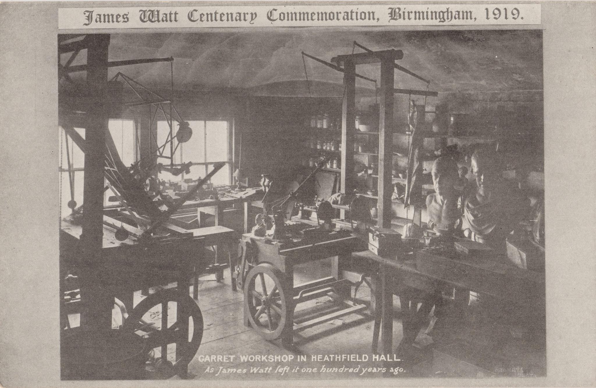 Garret Workshop in Heathfield Hall