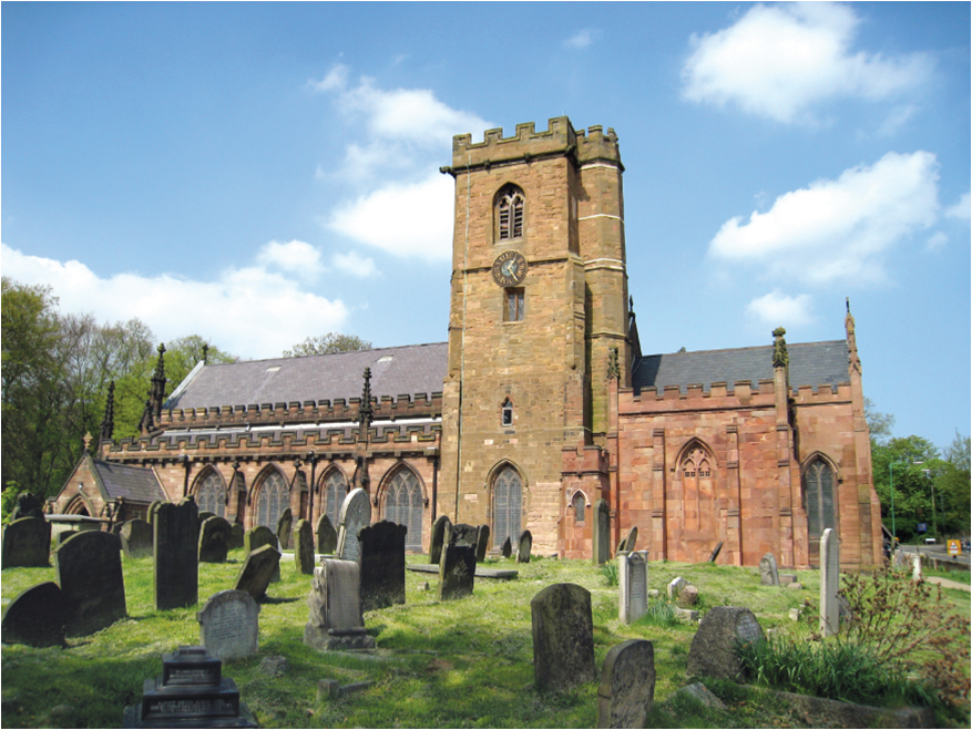 St Mary's church Handsworth