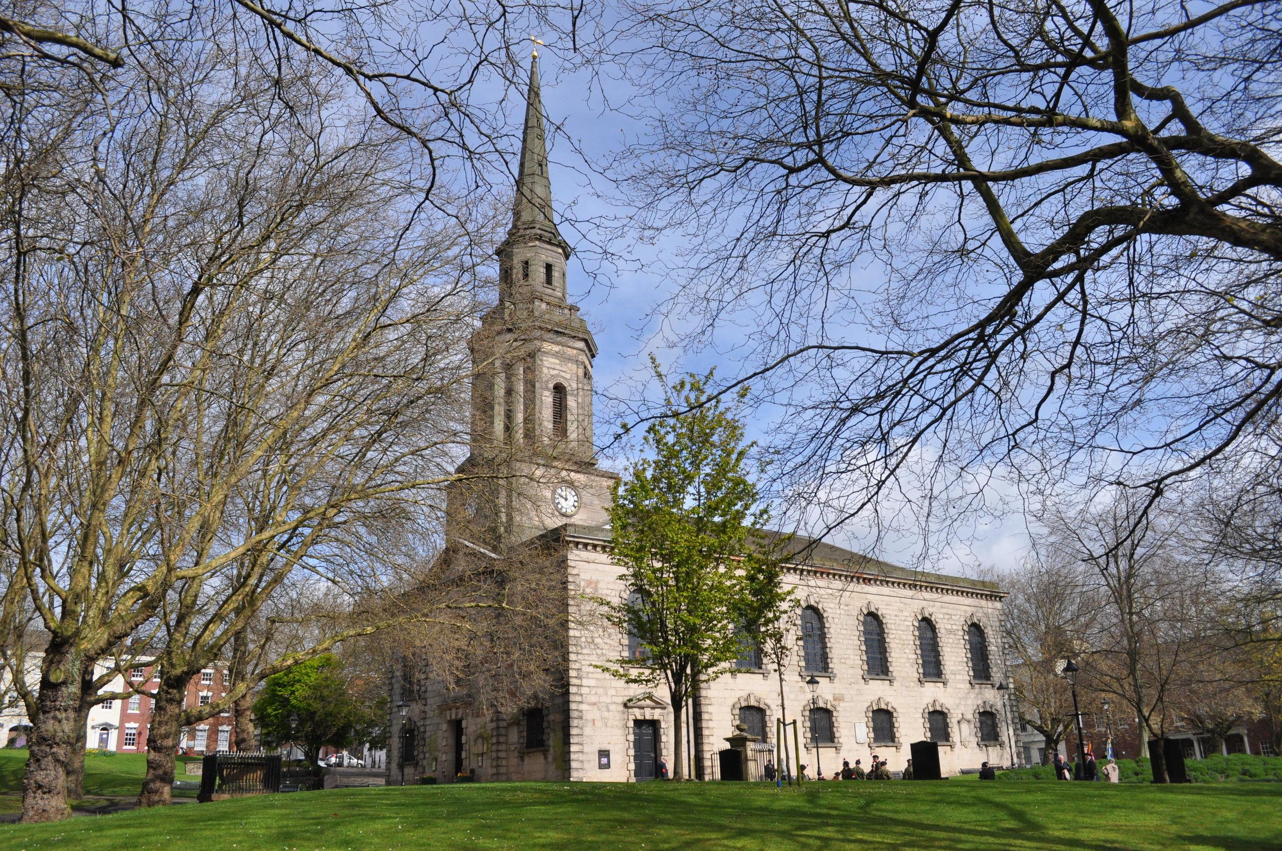 St Paul's Church. Photo by Robert Jones.
