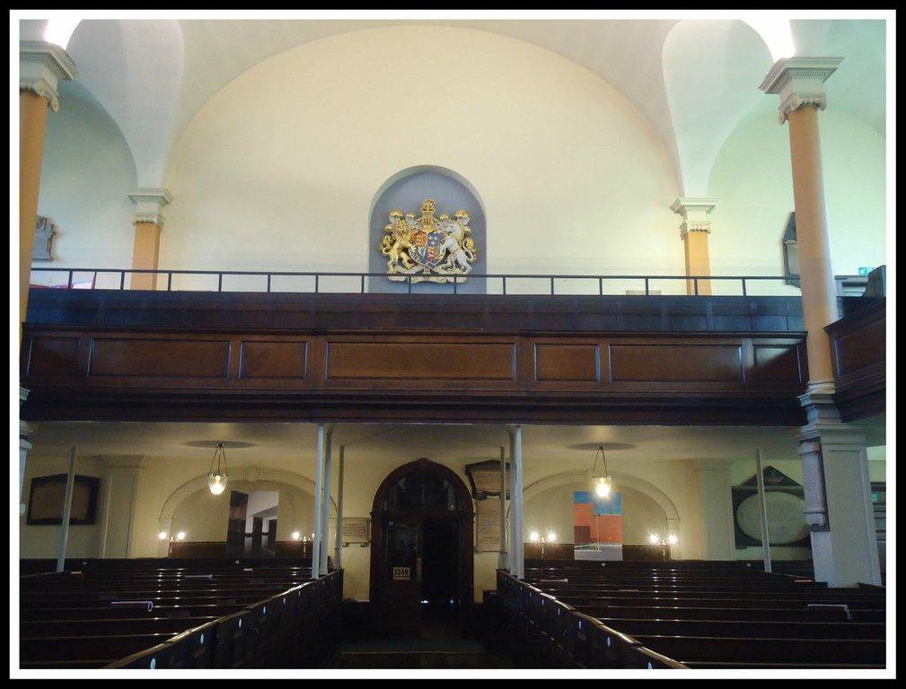 Interior of St Paul's Church. Photo courtesy St Paul's Church.