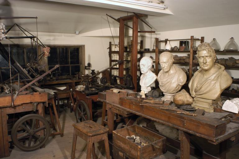 Watt's workshop. Photo by Science Museum London