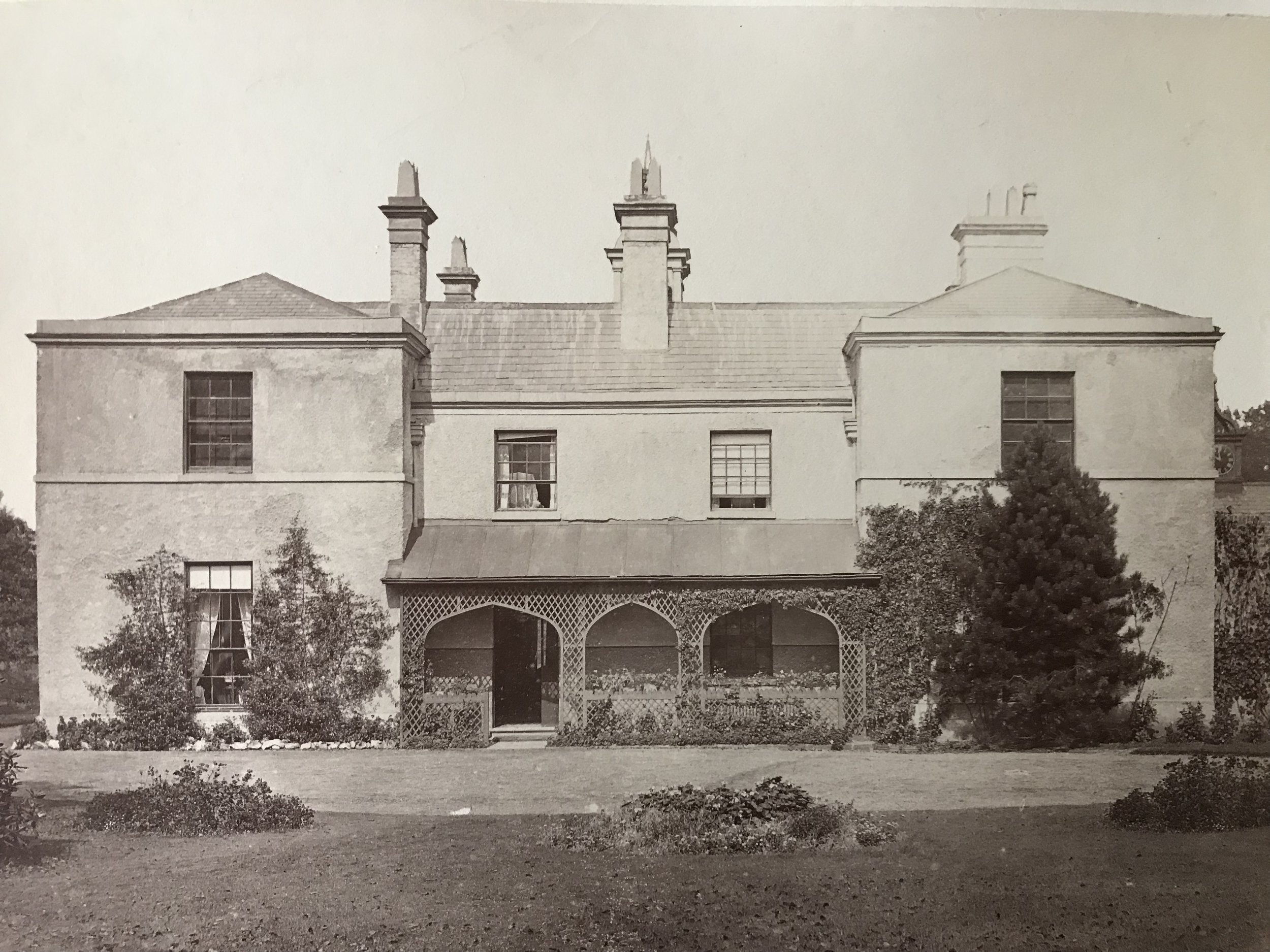 Heathfield Hall in Handsworth where James Watt lived from 1790-1819.