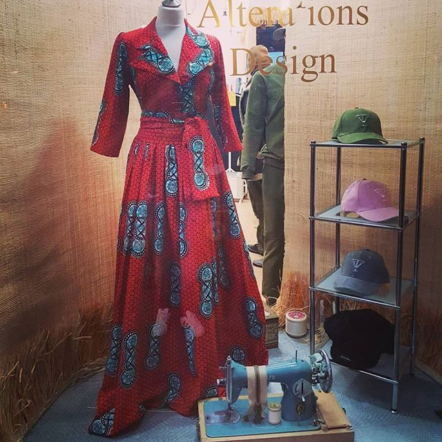 We are #NoOneFamous Tailoring, this is our #window #display... We are skilled #tailors, the proud home of some amazing #designs, #specialists in all sort of all sorts of #alterations for men, women and children and now also the named collection point for @truevie Clothing... #YesWeAre! ☺
