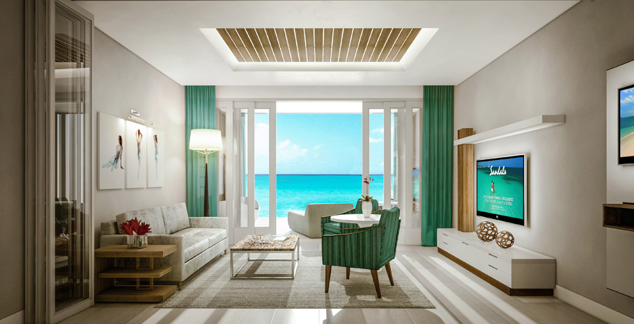 Beachfront Millionaire One-Bedroom Butler Villa Suite at Sandals Montego Bay.jpg