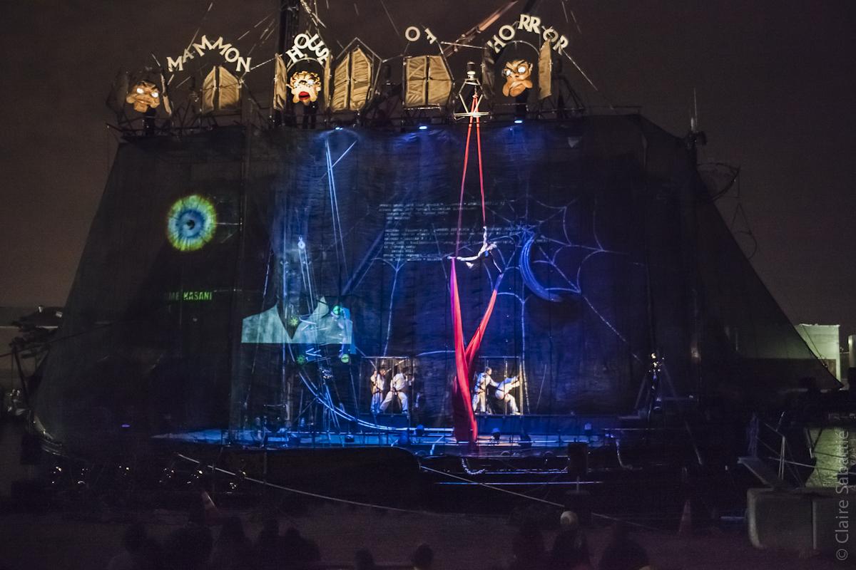 Hacked  - Caravan Stage Company, U.S. Tour 2014 photo credit: Claire Sabattie