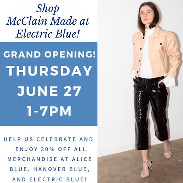 ⚡️ Hey Chattanooga! ⚡️ Have you heard that Electric Blue is now open!?! They are the only retailer in town carrying our jewelry and we just 💗 their vibe. Shop today till 7 and get some discounts! Located in Riverview (previously known as Verde boutique). @electricbluecollection