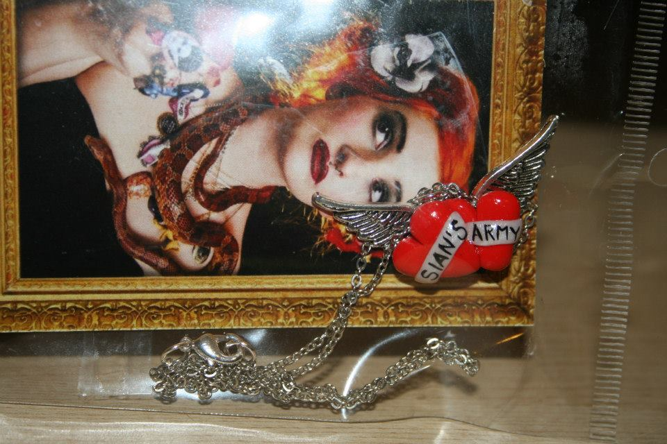Sian's Army Necklace - 2013