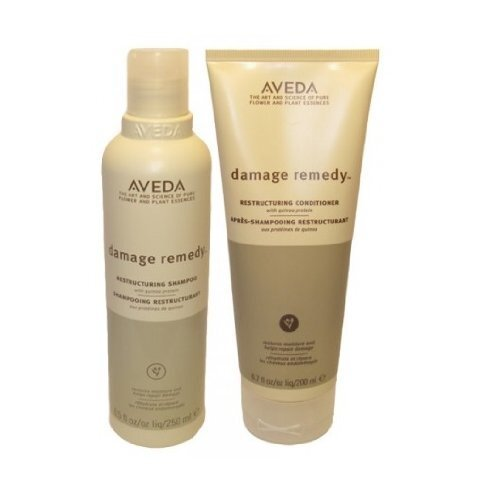 Aveda damage remedy shampoo and conditioner