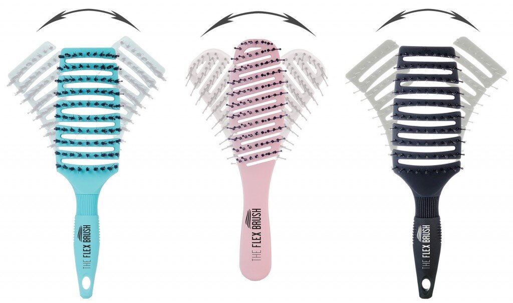flex brush the ultimate detangling brush