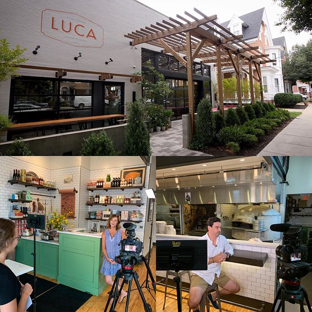 This week we had the opportunity to interview Leeann and Taylor Mason for a video we are working on with the @lancasterfarmlandtrust. Leeann and Taylor are passionate about sourcing local produce for their restaurant, @luca_lancaster. If you want to experience what late July should taste like, head on over. 😋 #freshlocalproduce #farmlandpreservation