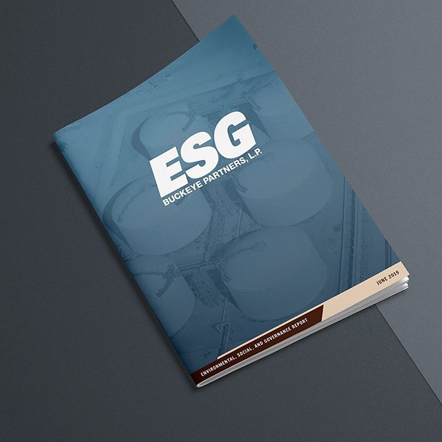 Buckeye puts a lot of effort into making sure their practices are sustainable, responsible, ethical and above all, safe. We designed this 65 page book to highlight their efforts. #book #design