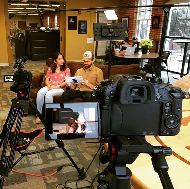 Here's a #behindthescenes shot from a funny video we produced for @nxtbookmedia. Check them out if you want to turn your print publications into exceptional digital content experiences. #digitalcontent
