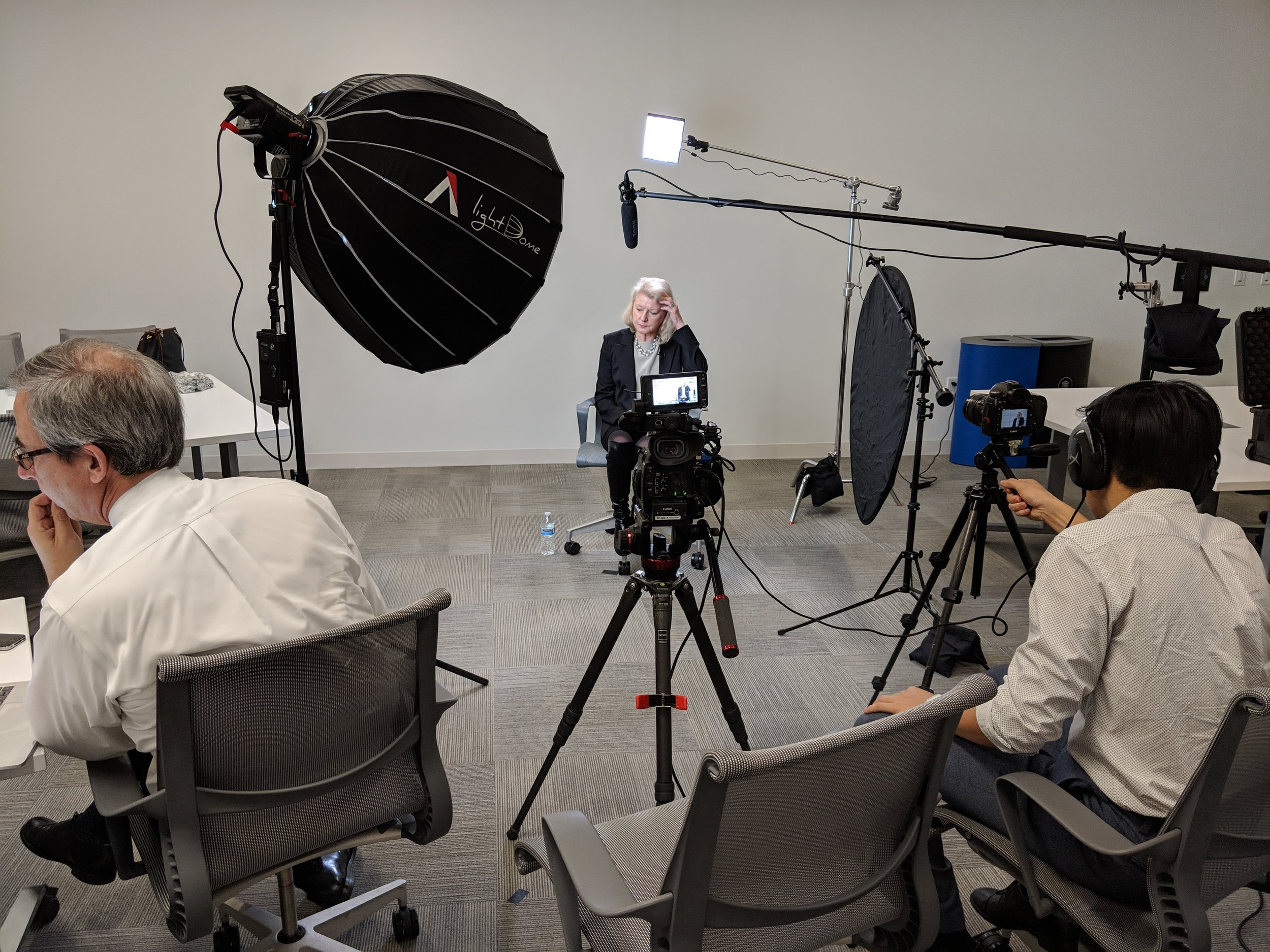 case study - MAPLE came to us for an interview series featuring executives from their member organizations.