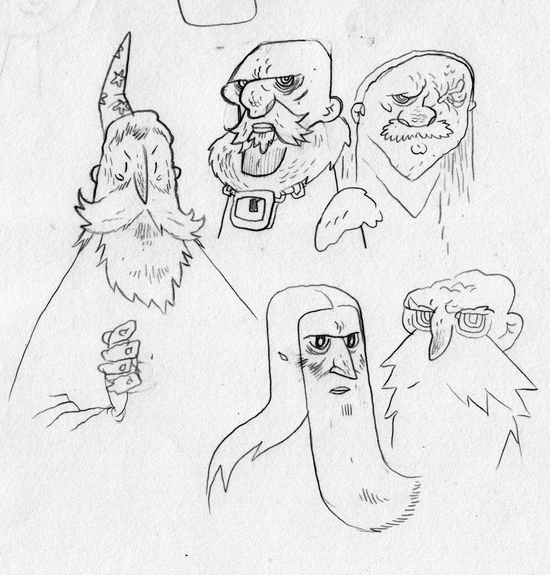 More wizard studies.