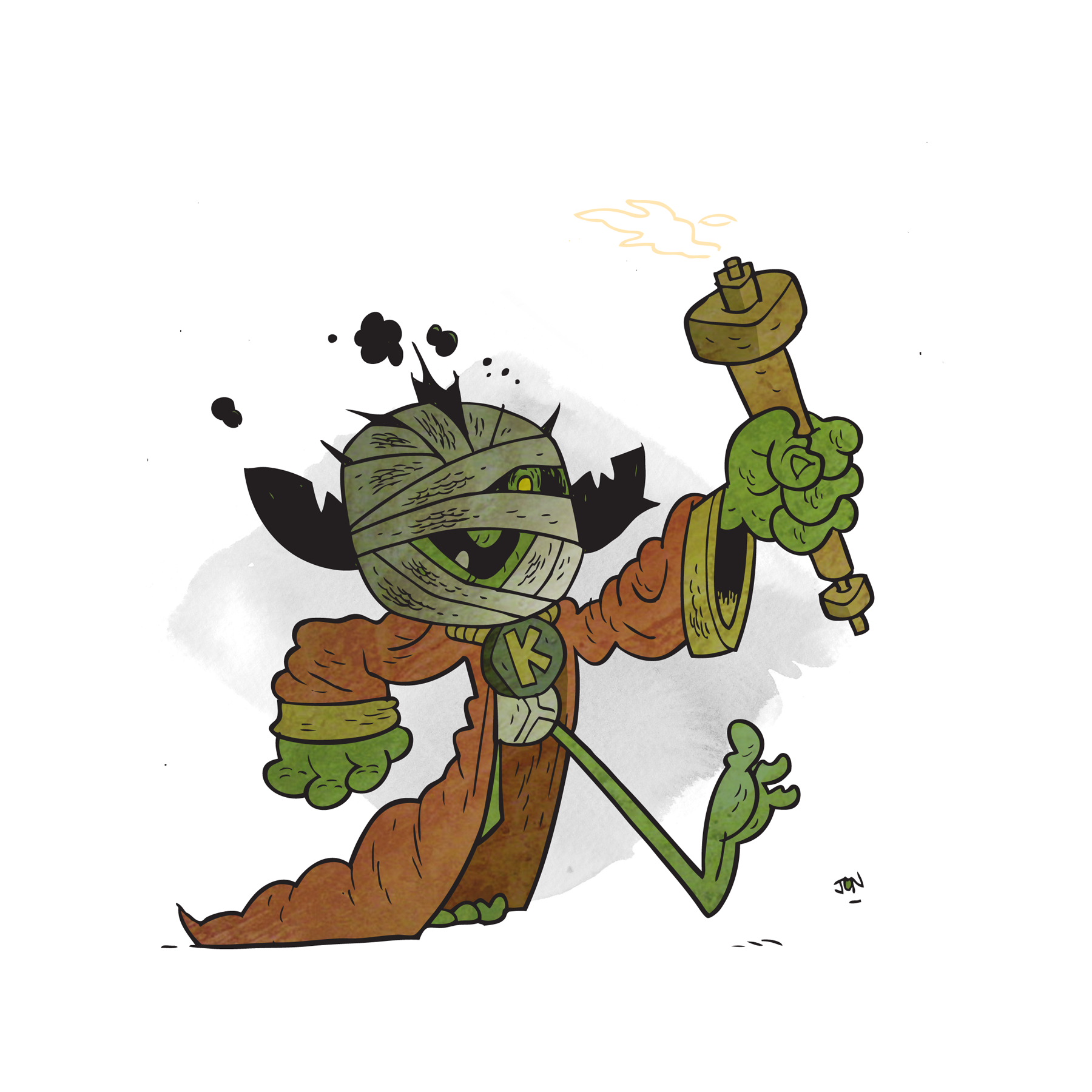 A proud bearer of the torch of goblin liberty.
