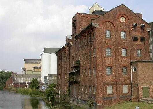 Victoria Mill at Wellingborough Embankment
