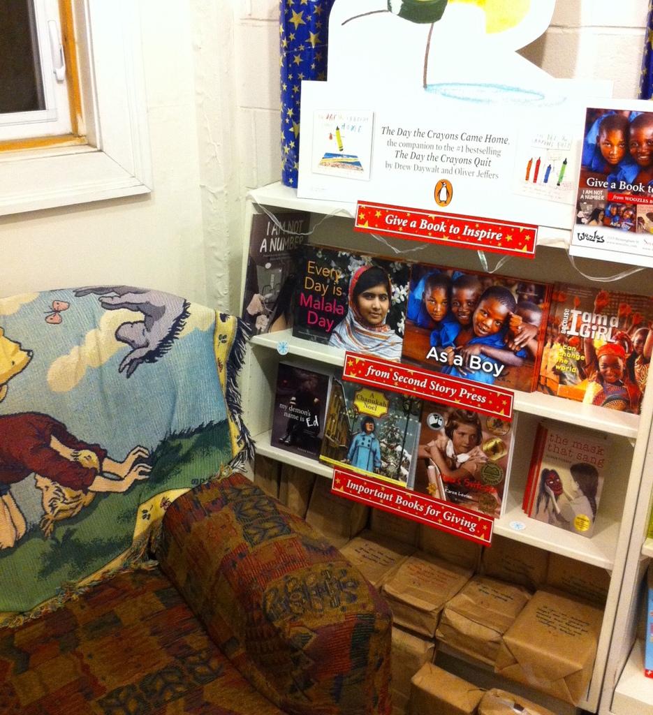 Woozles Children's Bookstore in Halifax