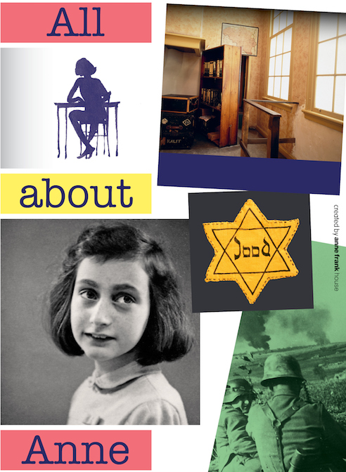 All About Anne , created by Anne Frank House (with writing by Menno Metselaar) and illustrations by Huck Scarry. Published in North America by Second Story Press.
