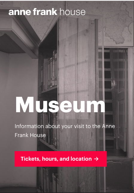 Visit the Anne Frank House museum website