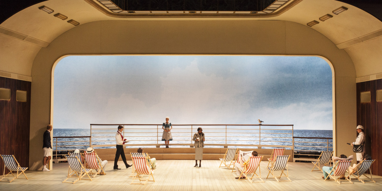 Don Giovanni directed by Oliver Mears, set and costume design by Annemarie Woods