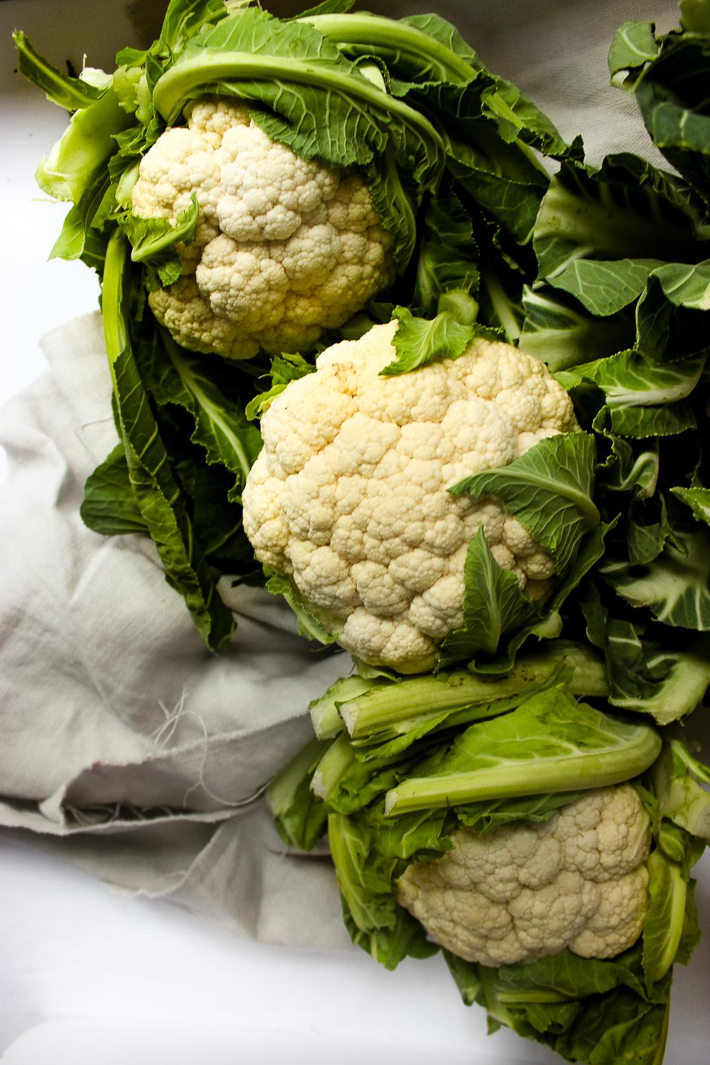 seasonal ingredient of the week, cauliflower, in season in february, recipe tips