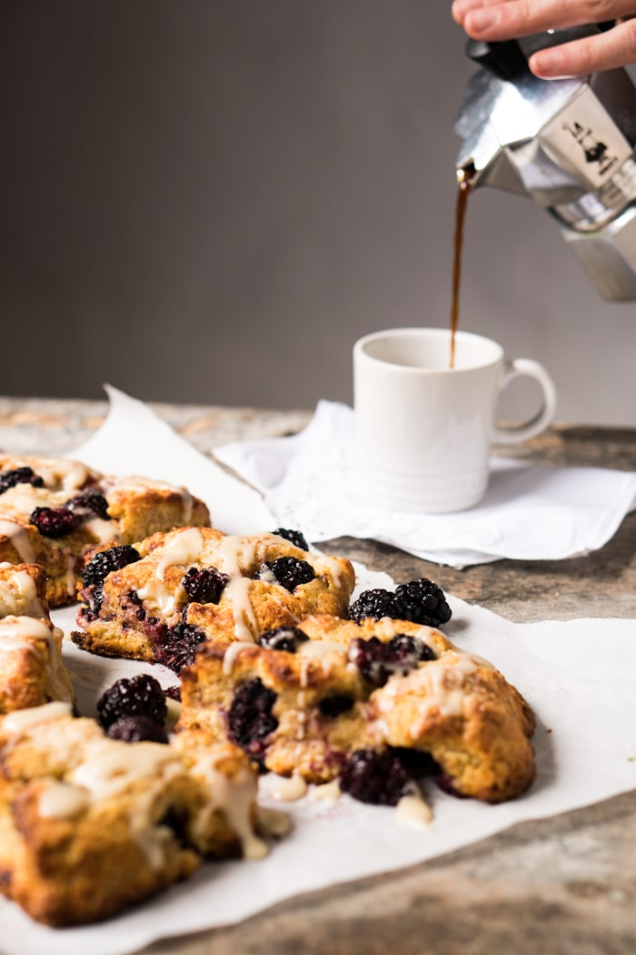 blackberry scones gluten free