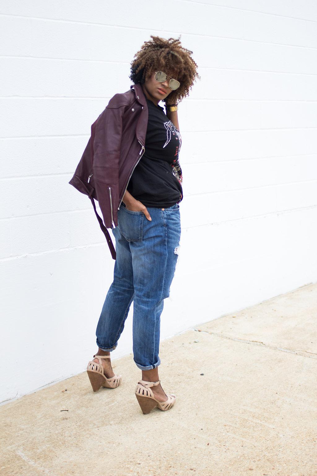 Washington DC - Fashion - Style - Ondia J - Plus Size - Natural Hair - Crochet