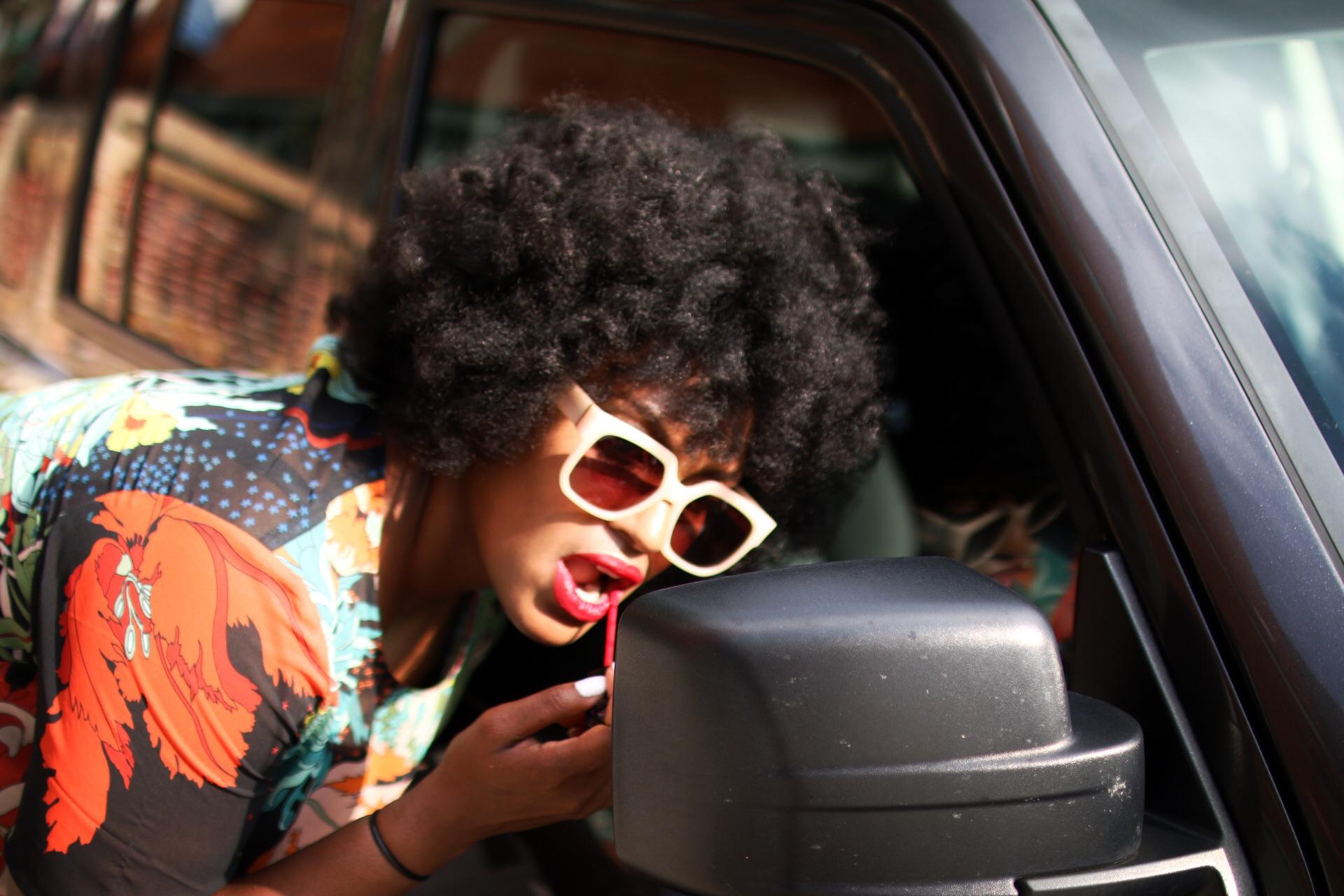 afro + natural hair