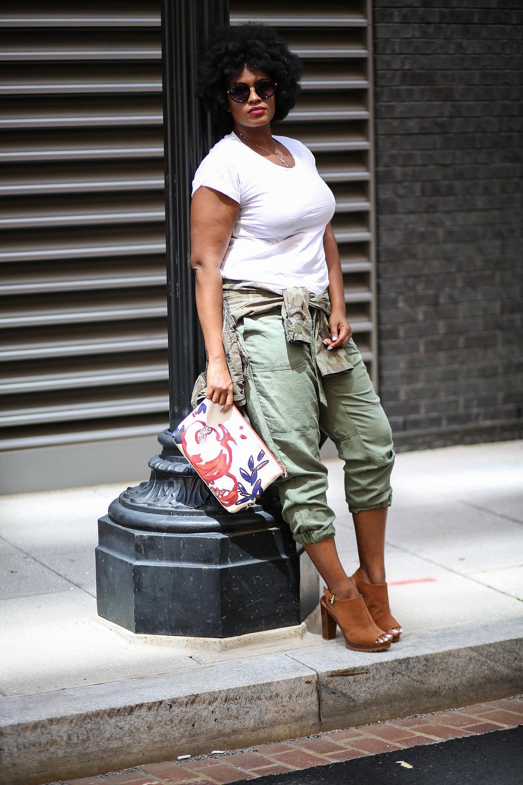 Top Washington, DC Style blogger + natural hair
