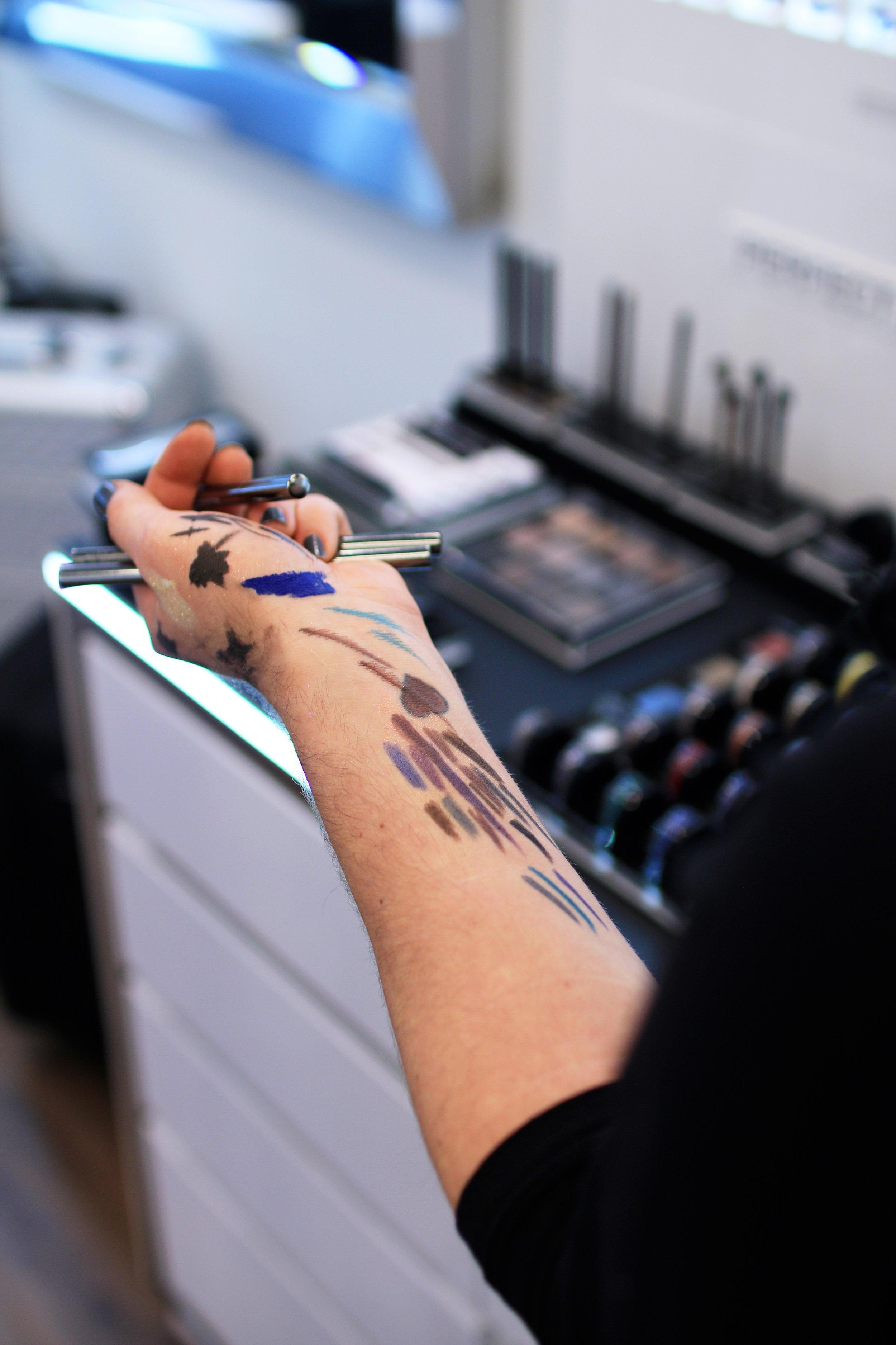 INGLOT + makeup
