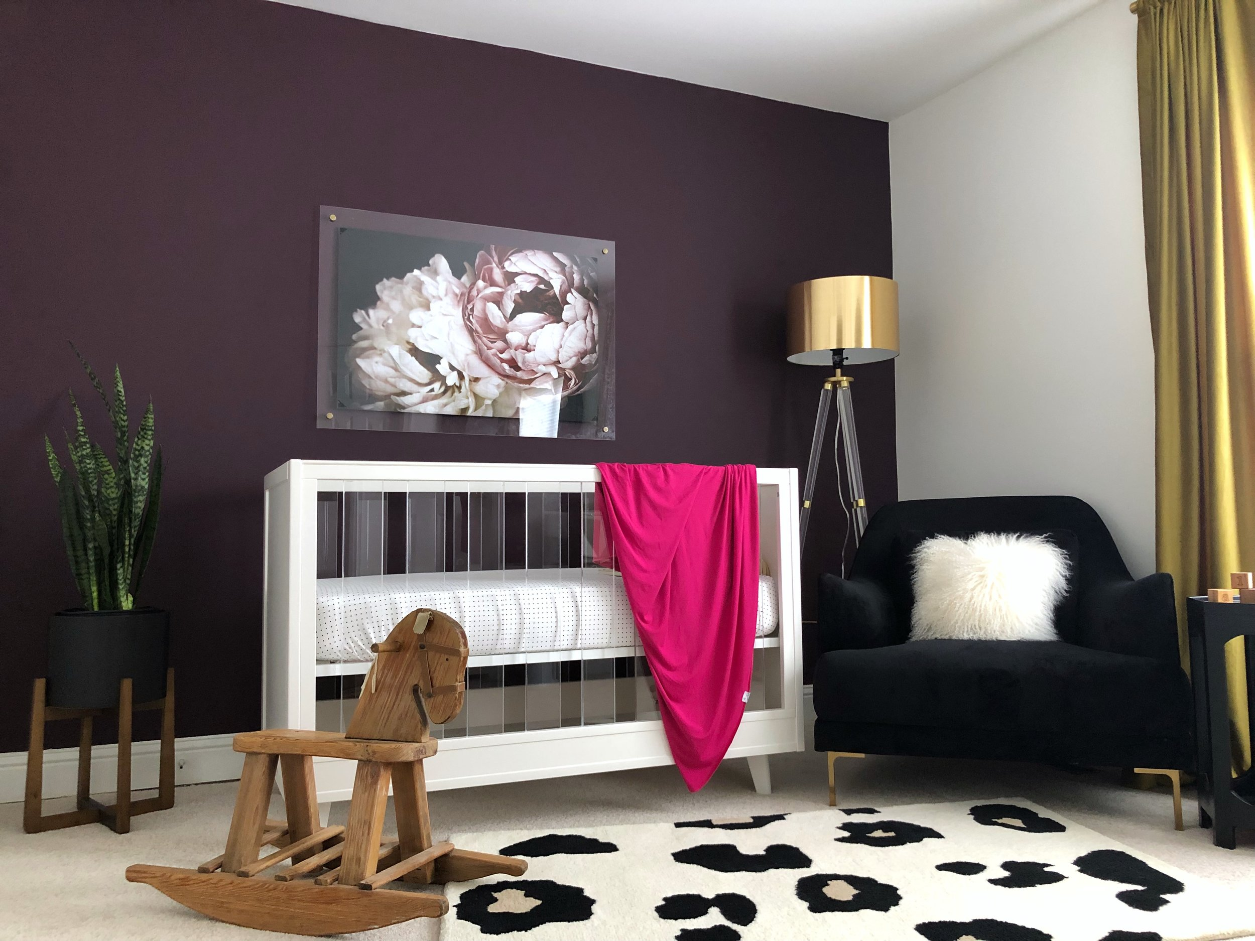 Modern Baby room reveal_Ondia J