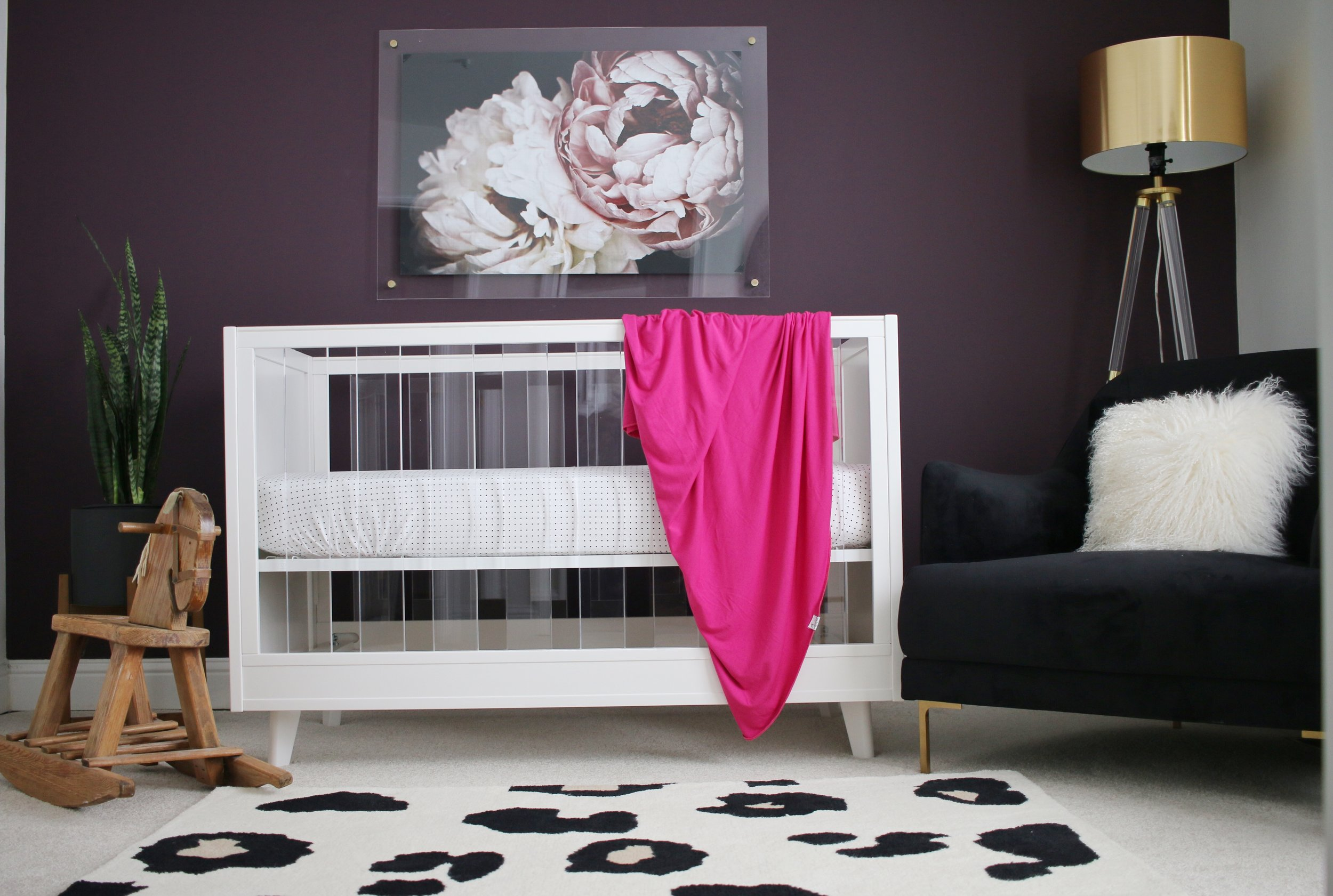 MODERN BABY ROOM REVEAL - WITH SHERWIN-WILLIAMS