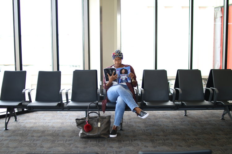 MY GO TO AIRPORT LOOK -