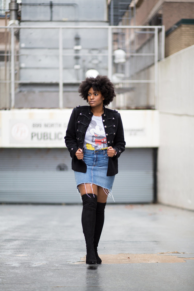 STYLING GRAPHIC TEES + MILITARY JACKETS -