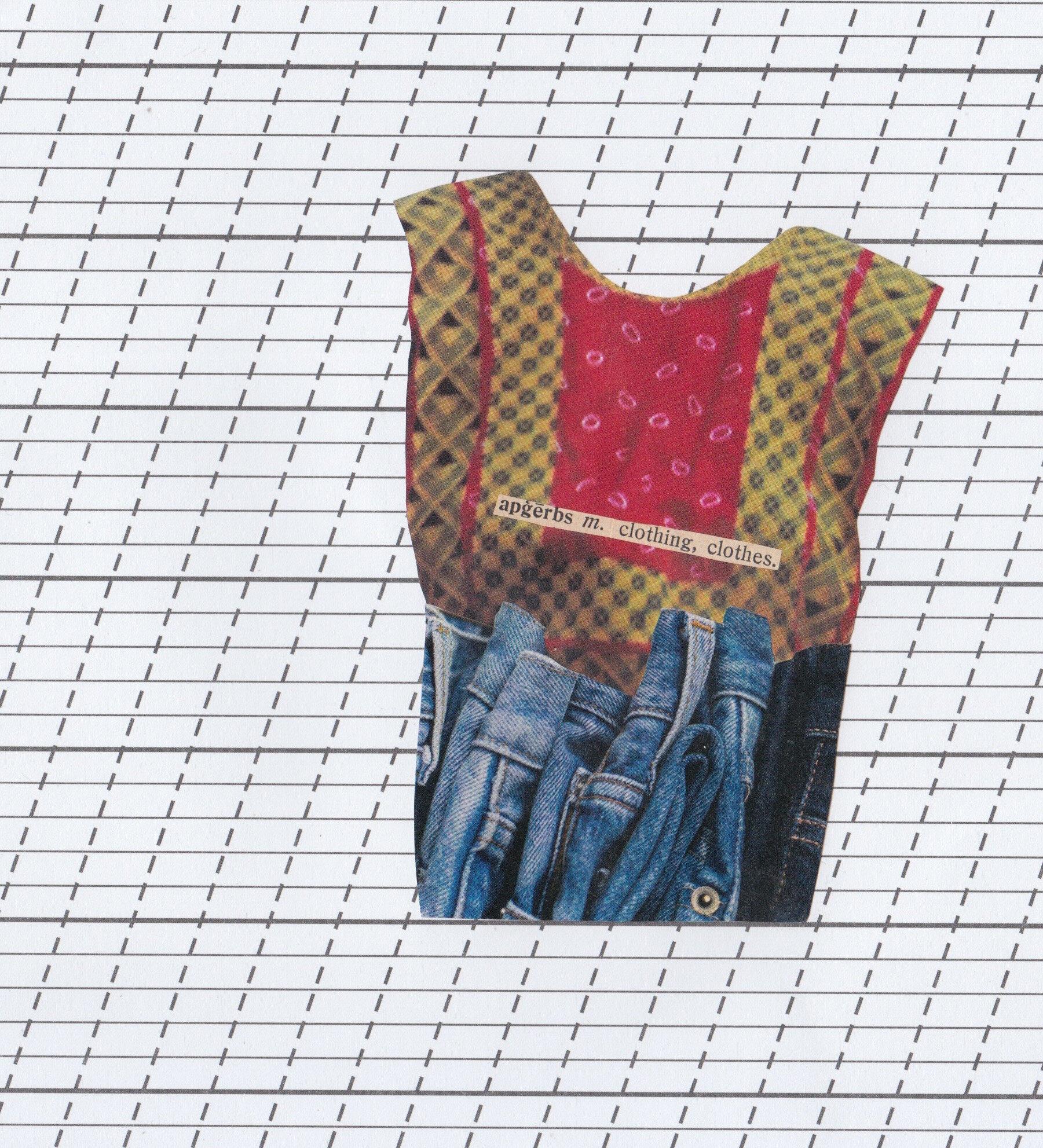 clothes = apģērbs -