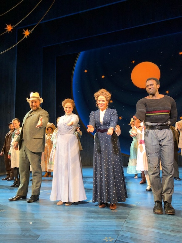 Julie, Carousel, Broadway (with Alexander Gemignani, Renee Fleming and Joshua Henry)