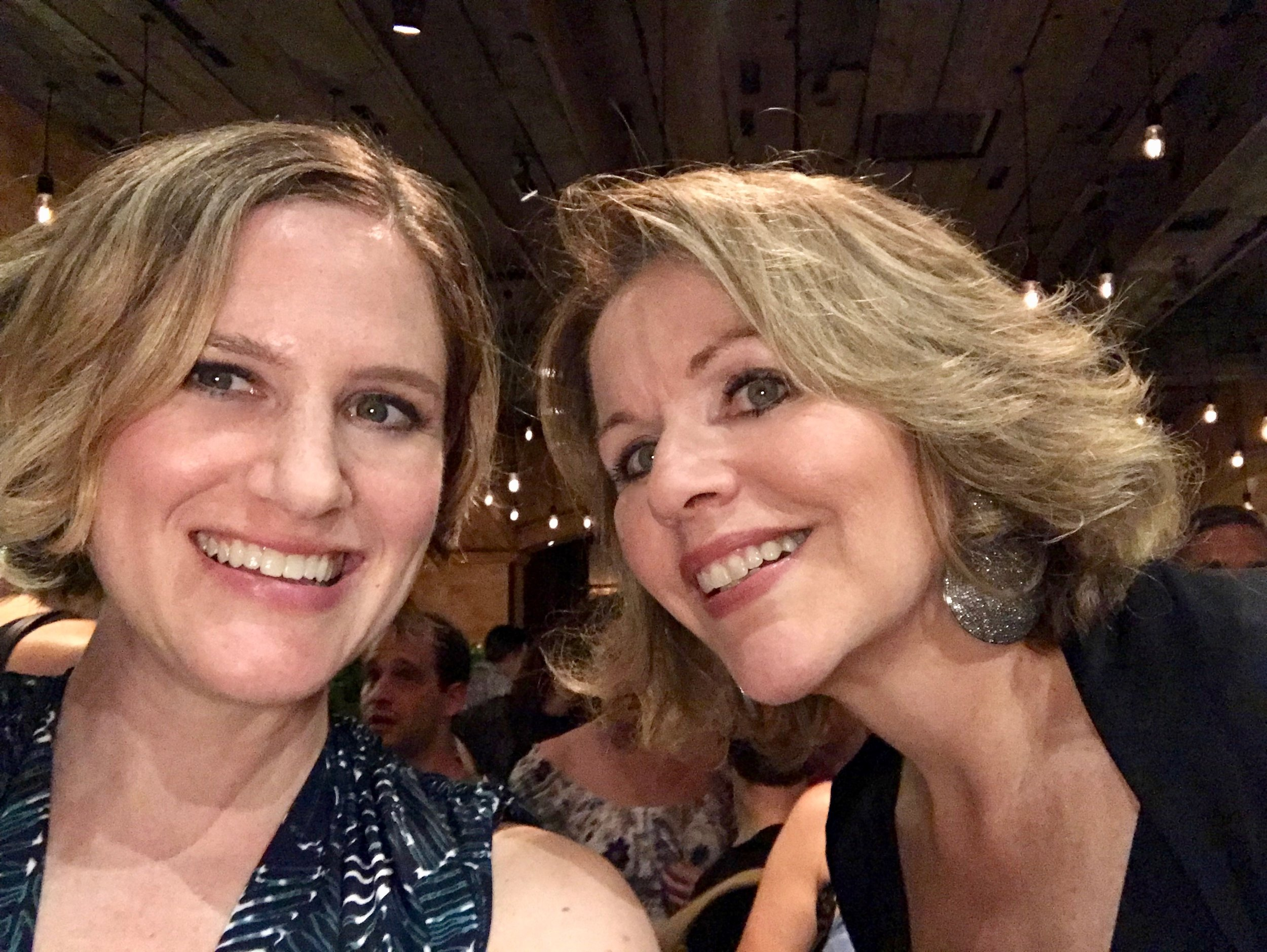 With Renee Fleming