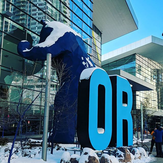 The big show starts tomorrow.... What new product would you like to see next year?  #outdoorretailer2019 #huntingfornewproduct #skisbootsjacketsandabigbluebear