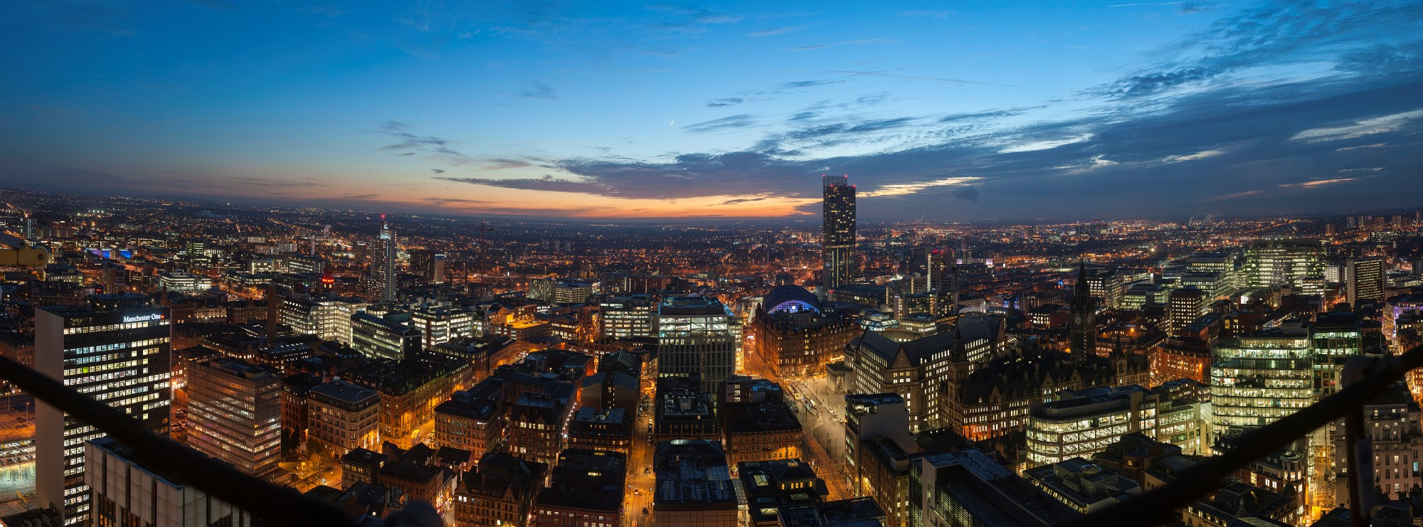 Manchester - From the City Tower by Andrew Brooks