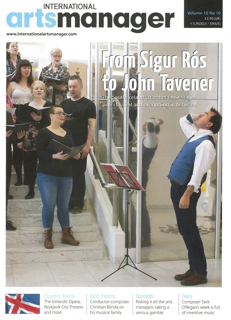 SICC Vol 10 No10 Jun 2014 - International Arts Manager Cover