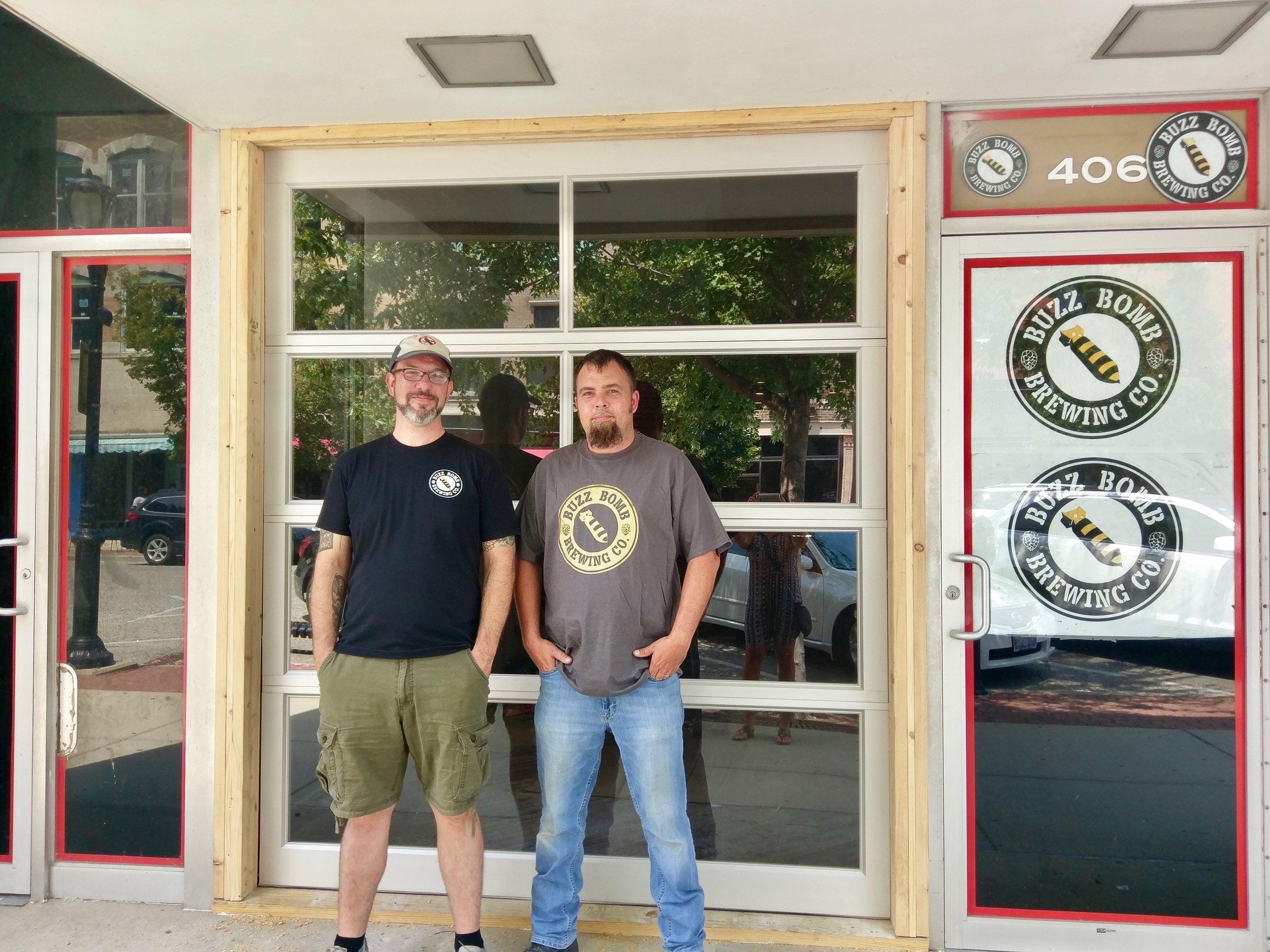 Josh Flanders & Bill Larson, Buzz Bomb Brewing co.