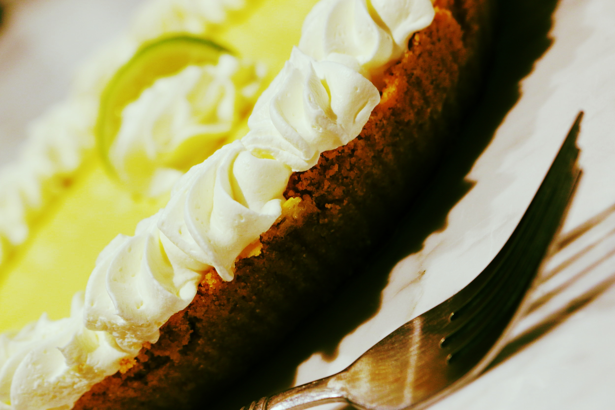 Homemade Key Lime Pie from Cafe Coco.
