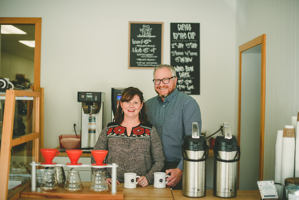 Owners Kendra and Brent.