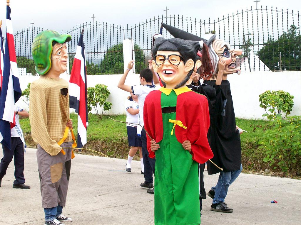 Cimarronas celebrando la independencia, 2010. Allan Javier Aguilar Castillo .